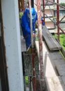 Nettoyeur haute-pression pour rénovation de balcon - Secteur de bâtiment