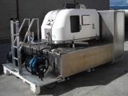 Nettoyeur haute pression sur berce - Pression : 300 bar