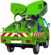 Nettoyeur hydraulique haute pression autonome - Débit 600 l/h - Cuve de récupération 50 L