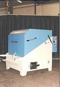 Nettoyeur ultrasons industriel rotatif - Machine rotative pour composants d'avion