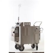 Nettoyeur vapeur industriel en acier inox - Désinfection sol, machines, établis