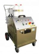 Nettoyeur vapeur sèche industriel triphasés inox - Efficace contre les salissures extrêmes