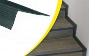 Nez de marche PVC souple - Matière : SBR -  Longueur : 1,5 ou 3 m - Fixation : à coller