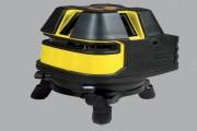 Niveau laser multilignes - Précision de la ligne : +- 2 mm à 15 m (horizontale et verticale)