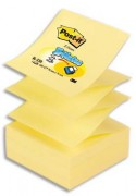 Notes POST-IT bloc de 100 feuilles 7,6 x 7,6 cm jaune - Post-it®
