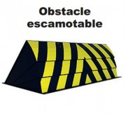 Obstacle escamotable automatique