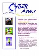 Organisation animations et jeux de groupes pour soirée d'entreprise - Cyber acteur