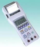 Oscilloscope enregistreur de poche - 3 échelles du signal d'entrée configurable : 0/20mA, 0/200mV et 0/2V