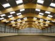 Ossature bois pour bâtiment - Structure bois en charpente traditionnelle ou en lamellé-collé