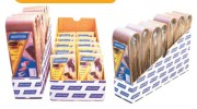 Pack 4 bandes corindon - Dimensions (Lxl) mm : 75x533 - 100x610