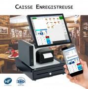 Pack caisse enregistreuse tactile restaurant - 3 packs disponibles : Economique, Robuste, Design