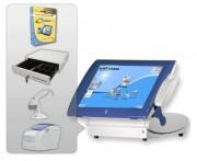 Pack caisse enregistreuse tactile pour point de vente - Logiciel - Terminal PV - Imprimante ticket de caisse - Tiroir caisse