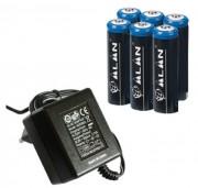 Pack chargeur pour Talkie Walkie Alan Midland 445 BT - Chargeur rapide de bureau et de voiture