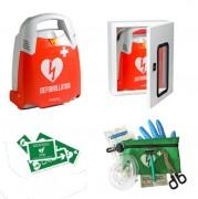 Pack complet défibrillateur extérieur - Automatique ou semi-automatique - Spécial extérieur