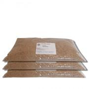 Pack de 3 Sacs de 20 kilos de granulat de maïs sans poussière - 3 sacs de 20 kilos