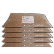 Pack de 5 Sacs de 20 kilos de granulat de maïs sans poussière - 5 sacs de 20 kilos