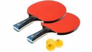 Pack duo raquettes 3 balles de ping pong