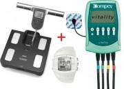 Pack impédancemètre et electro stimulateur - Impédancemètre - Electrostimulateur - Montre d'activité