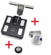 Pack impédancemètre tensiomètre électronique - Tensiomètre électronique + 1 Impédancemètre + 1 Compteur de pas