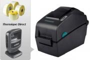 Pack Imprimante et lecteur code barre médical - Imprimante + 4 bobines + lecteur codes barres