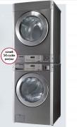 Pack lave-linge séchoir professionnel avec monnayeur - Garantie 2 ans.