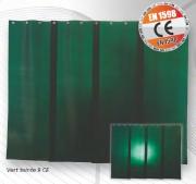 Pack rideaux lanières - Dimensions (HxL) mm : de 1400 x 2000 à 2000 x 2000