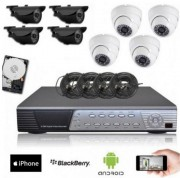 Pack vidéosurveillance SONY - Disque dur 160 Go de stockage