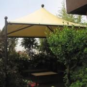 Pagode jardin - En acier galvanisé - carrée, rectangulaire, hexagonal ou octogonal