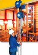 Palan manuel à chaine 20 Tonnes - Charge maximale utile : 0,250 à 20 tonnes.