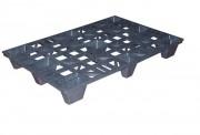 Palette ajourée plastique - Dimensions (L x l x h) : de 800 x 600 x 140 à 1200 x 1000 x 140 mm