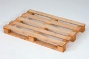 Palette bois de reemploi - Palette demi-lourde, 11802