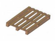 Palette demi-lourde occasion - Palette bois demi-lourde 800 X 1200 mm