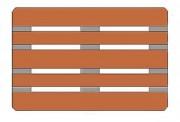 Palette bois lourde 1400 kg - Charge dynamique jusqu'à 1400 kg