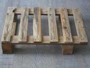 Palette bois occasion - Palette bois 400 X 600 mm 2 semelles