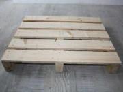 Palette en bois occasion  -  Palette bois 600 X 800 mm 3 chevrons