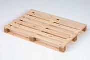 Palette bois perdue 1200 mm - Palette demi-lourde, neuve, 15802