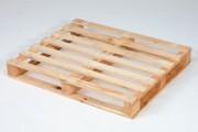 Palette bois perdue 750 kgs - Palette demi-lourde, de réemploi, 14150, neuve, 15150