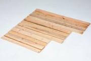 Palette bois pour emballage 1200 mm - Planche, bois résineux, 81204