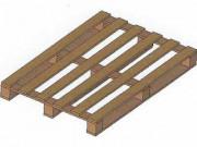 Palette légère en bois - Palette bois légère 800 X 1200 mm occasion