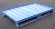 Palette métallique avec rebords - Charge : 1500 kg - Bords renforcés
