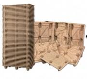 Palette Moulée 900 Kg - Charge dynamique (Kg) :  de 250 à 900 Kg