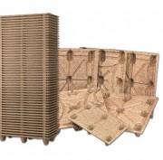 Palette moulée pour container maritime - Charge dynamique (Kg) :  900 Kg