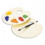 Palette ovale nue plastique 23x17 LEFRANC BOURGEOIS - Color&Co