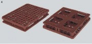 Palette packpal pleine avec rebord - 3F502