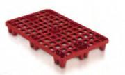 Palette plastique - Dim. : 1200x800 / 1200x1000 mm