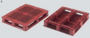 Palette plastique à semelles périmétriques - 33503