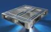 Palette plastique alimentaire a semelles - Tailles disponibles : 800x1200 ou 1000x1200 - Différents modèles
