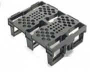 Palette plastique légère charge dynamique 500 kg - Réf. 6101752