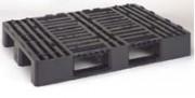 Palette plastique pour charge élevée - C5CR  Réf. K48010705 (C5CR) Noir