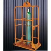 Palette pour 4 - 6 bouteilles de gaz - Longueur (mm) : 900 - 1200